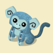Item Exclusive Monkey Plushie ice