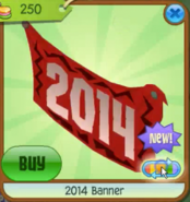 Red 2014 banner