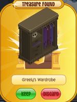 Greely's Wardrobe