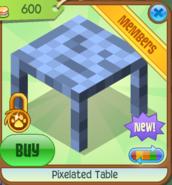 Pixelated Table 2