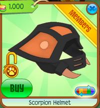 ScorpionHelmet