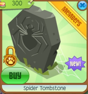 Spider Tombstone