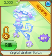 Epic-Wonders Crystal-Graham-Statue