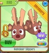 Reindeer slippers4