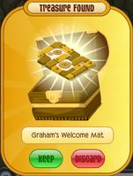 Graham's Welcome Mat