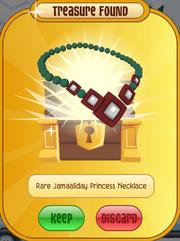 Jamaaliday-Rescue 250-M Rare-Jamaaliday-Princess-Necklace