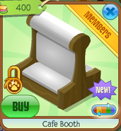 Cafe booth 6