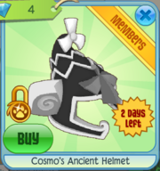 Cosmo's Ancient Helmet