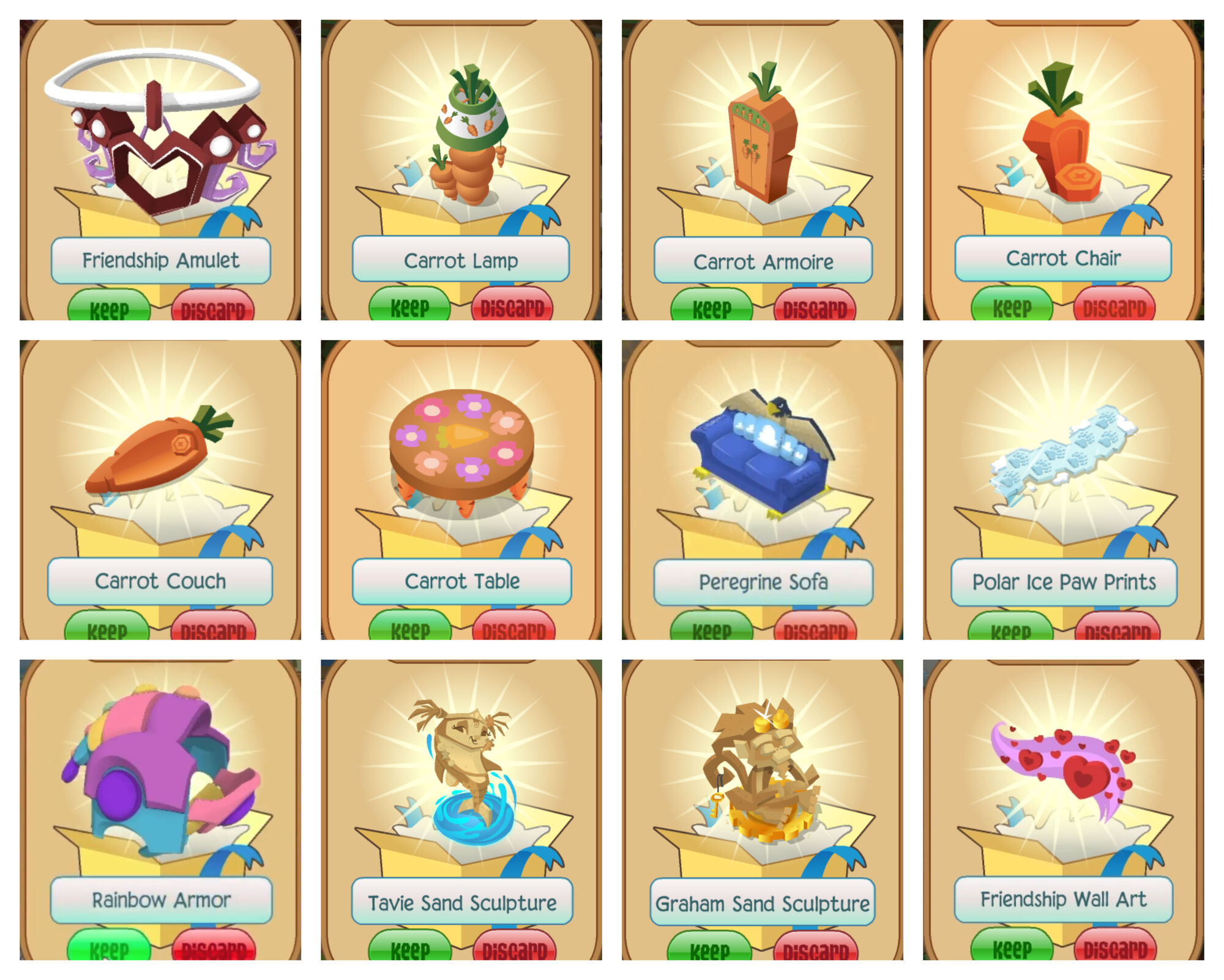 Image - Membership Redemption Items.jpg   Animal Jam Item Worth Wiki ...