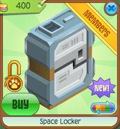 Shop Space-Locker Orange