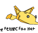 Rare Fennec Fox Hat