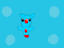 My animal jam fanmade pets-pet sea angel