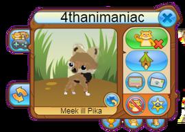 Animal jam ill Pika