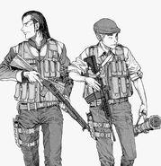 Koji und Sato Ajin