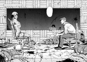 Ajin research lab massacre