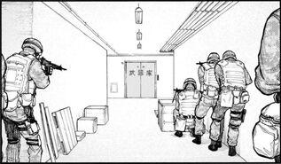 54 5 Military waiting for Saito
