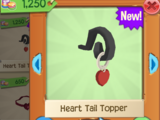 Heart Tail Topper