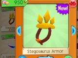 Stegosaurus Armor