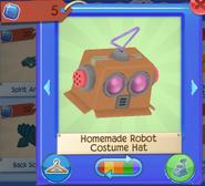 Homemade robot costumn hat 2