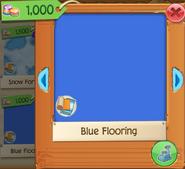 Blue Flooring