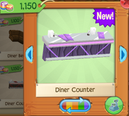 Diner counter 5