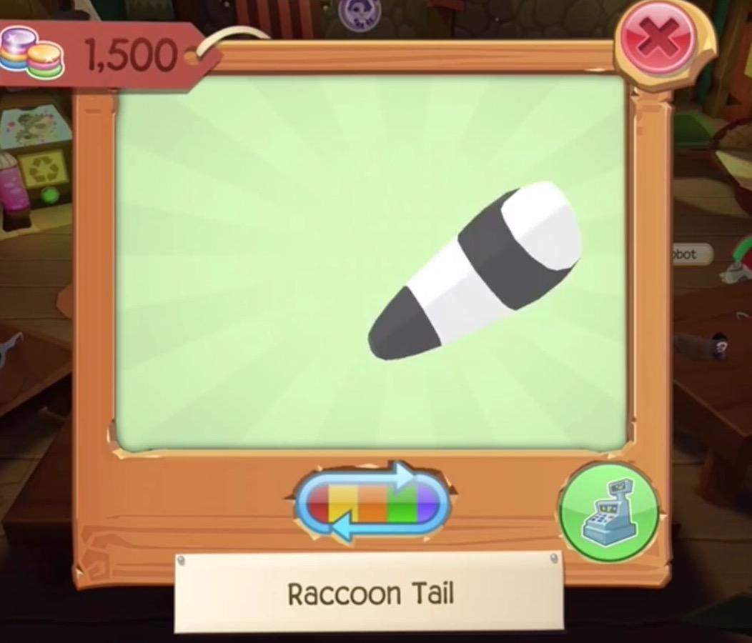 Rare Raccoon Tail | Play Wild Wiki | FANDOM powered by Wikia