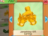 Jamaalidays Gift Earrings