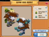 Alpine Goat Bundle