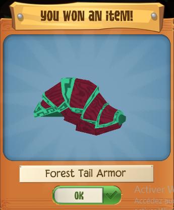 Forest Tail Armor Play Wild Wiki Fandom Powered By Wikia