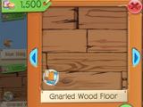 Gnarled Wood Floor