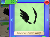 Blackout Griffin Wings