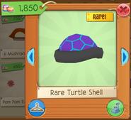 Rim turtle shell