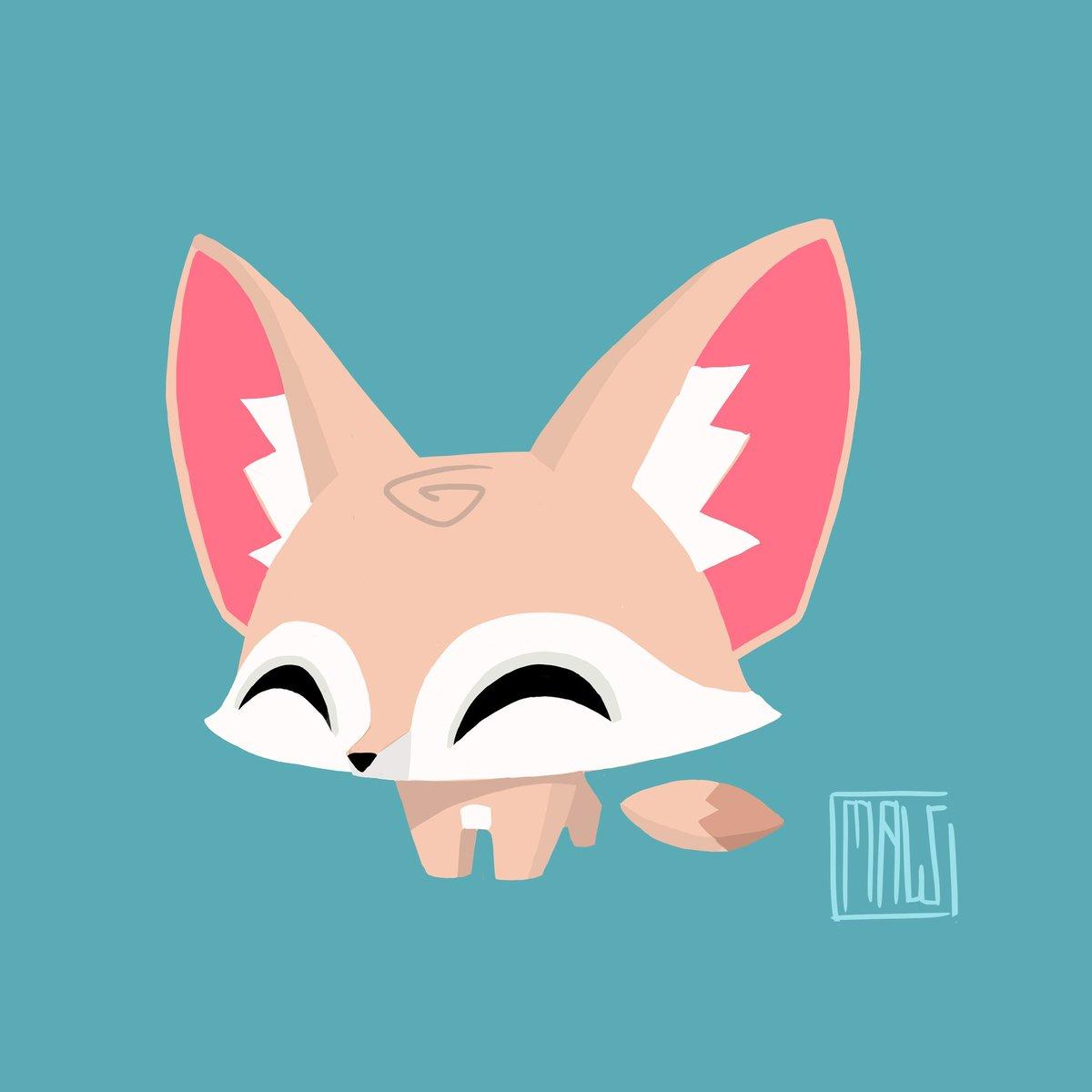 Fennec Fox Concept Art