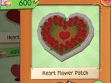 Heart Flower Patch