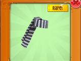 Rare Long Striped Scarf