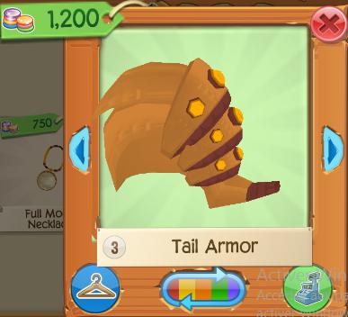 Tail Armor Play Wild Wiki Fandom Powered By Wikia