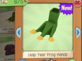 Leap Year Frog Hands