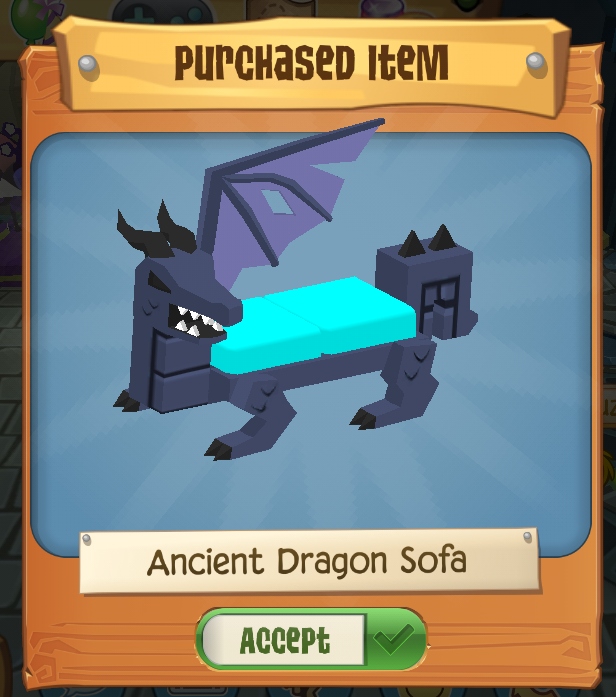 Ancient Dragon Sofa Play Wild Wiki Fandom Powered By Wikia