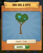 Heart tree pack runs