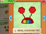 Blinky Antennae Hat