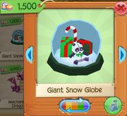 Giant Snow Globe1