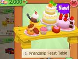 Friendship Feast Table
