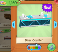 Diner counter 2