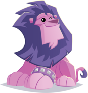 Lionwithwristband