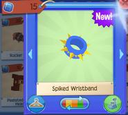 Spiked wristband 1