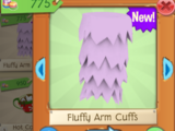 Fluffy Arm Cuffs