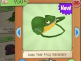 Leap Year Frog Backpack