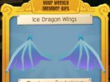 Ice Dragon Wings