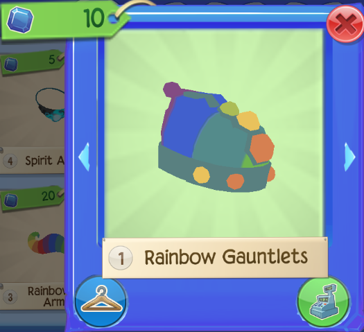 Rainbow Gauntlets | Play Wild Wiki | FANDOM powered by Wikia