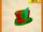 Jamaaliday Striped Top Hat